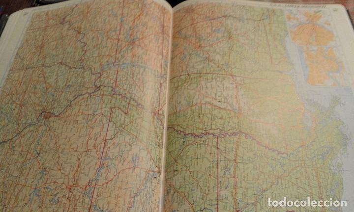 Libros de segunda mano: Atlas of the world - The Times. Rialp - Comprehensive edition 1993 - en inglés - Foto 16 - 100631179