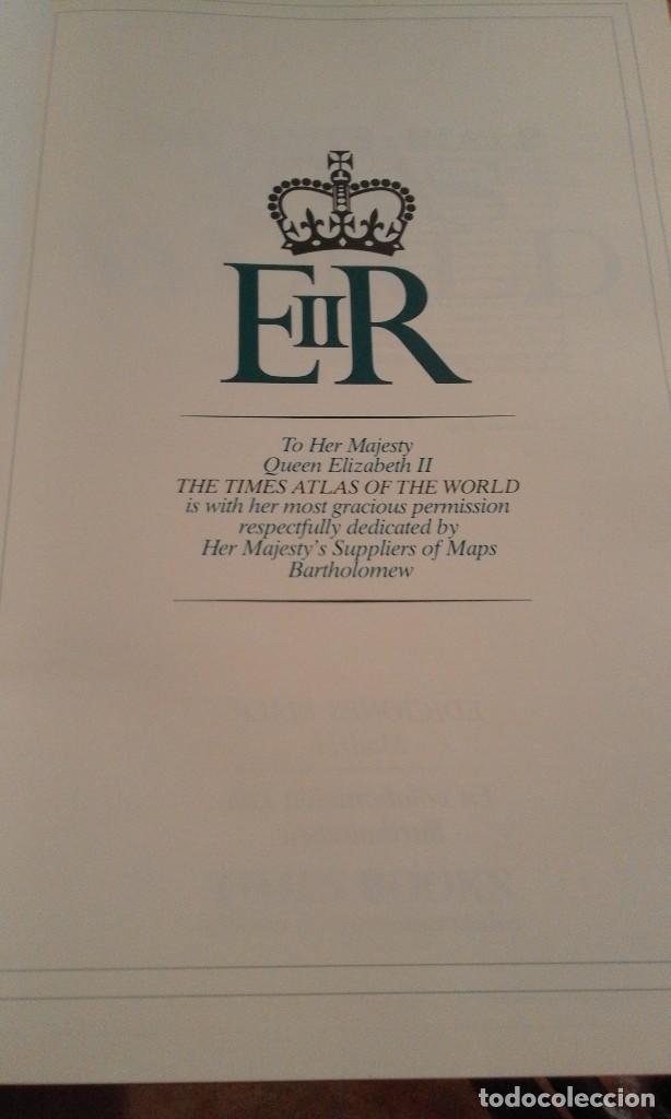Libros de segunda mano: Atlas of the world - The Times. Rialp - Comprehensive edition 1993 - en inglés - Foto 18 - 100631179