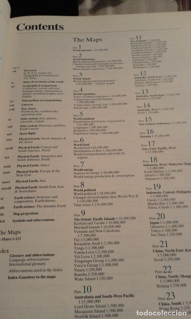 Libros de segunda mano: Atlas of the world - The Times. Rialp - Comprehensive edition 1993 - en inglés - Foto 21 - 100631179