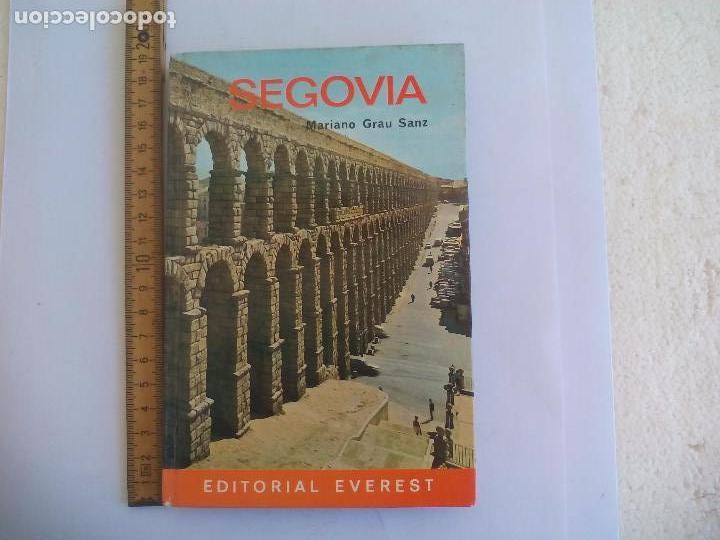 SEGOVIA. MARIANO GRAU SANZ. 1967. EN INGLÉS. GUÍA TURÍSTICA EDITORIAL EVEREST (Libros de Segunda Mano - Geografía y Viajes)
