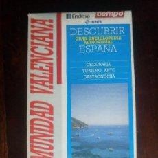 Libros de segunda mano: CINTA VHS COMUNIDAD VALENCIANA DESCUBRIR ESPAÑA TIEMPO GEOGRAFIA TURISMO ARTE GASTRONOMIA. Lote 101126999