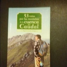 Libros de segunda mano: FERNANDEZ ORTEGA, ANGEL: 53 RUTAS POR LAS MONTAÑAS CUENCA CAUDAL, ASTURIAS, SENDERISMO. Lote 100728739