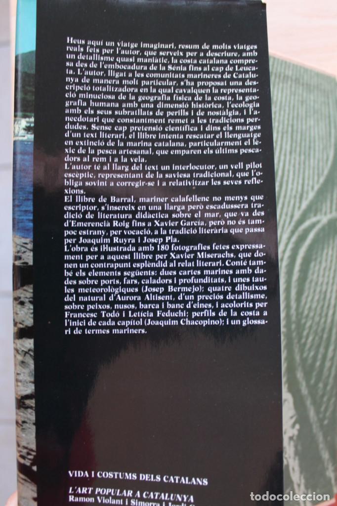 Libros de segunda mano: Carlos Barral y Xavier Miserachs - Catalunya des del mar - Edicions 62 - Foto 2 - 101578783