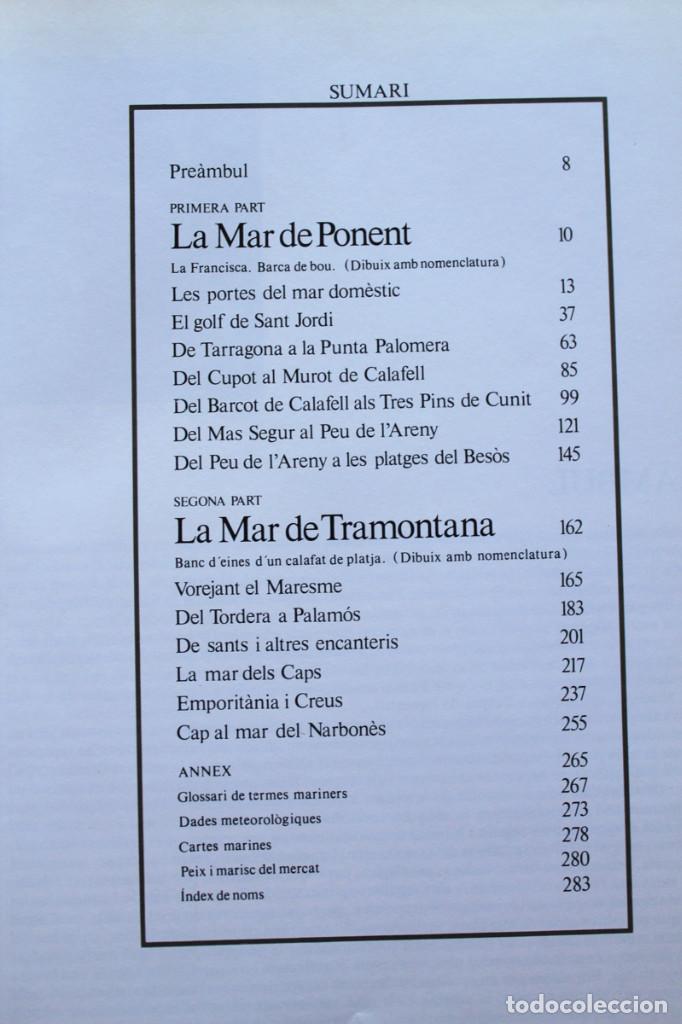 Libros de segunda mano: Carlos Barral y Xavier Miserachs - Catalunya des del mar - Edicions 62 - Foto 3 - 101578783
