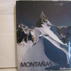 Libros de segunda mano: MONTAÑAS - PRIMERA EDICIÓN - 2002 - LUNWERG - 333 PÁGINAS - BUEN ESTADO. Lote 101777047