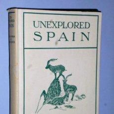 Libros de segunda mano: UNEXPLORED SPAIN.. Lote 102118883
