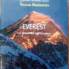 Libros de segunda mano: EVEREST. LA MONTAÑA IMPLACABLE - NATIONAL GEOGRAPHIC - EDITORIAL PLANETA - AÑO 1998. Lote 102379955