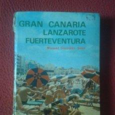 Libros de segunda mano: LIBRO GRAN CANARIA LANZAROTE FUERTEVENTURA ED. EVEREST ESCRITO EN SUECO ? NORUEGO ? SVENSK UPPLAGA . Lote 103136035