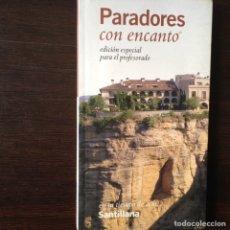 Libros de segunda mano: PARADORES CON ENCANTO. Lote 103172998