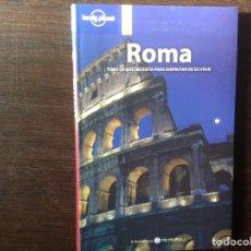 Libros de segunda mano: ROMA. LONELY PLANET. Lote 103363127
