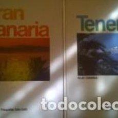 Libros de segunda mano: GRAN CANARIA / TENERIFE ISLAS CANARIAS 2 TOMOS / CARLOS GUILLERMO DOMÍNGUEZ / FOTOGRAFÍAS DE TULLIO. Lote 103530103