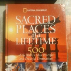 Libros de segunda mano: SACRED PLACES OF A LIFETIME - NATIONAL GEOGRAPHIC - 2008 - EN INGLÉS. Lote 103722251