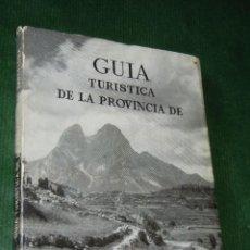 Libros de segunda mano: GUIA TURISTICA DE LA PROVINCIA DE BARCELONA, DIPUTACION 1952. Lote 103751359
