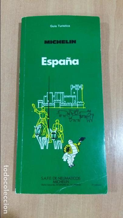 GUIA TURISTICA MICHELIN. ESPAÑA 1984. W (Libros de Segunda Mano - Geografía y Viajes)