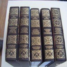 Libros de segunda mano: JML LOTE 4 TOMOS CATEDRALES DE ESPAÑA EDITORIAL EVEREST Y 1 TOMO MONASTERIOS DE ESPAÑA, 1990 2º EDIC. Lote 104035163