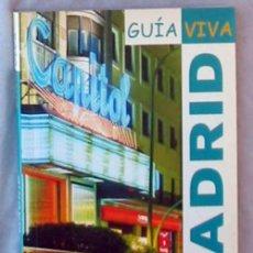 Libros de segunda mano: GUÍA VIVA MADRID - ANAYA TOURING CLUB 2005 - VER DESCRIPCIÓN E INDICE. Lote 104196531