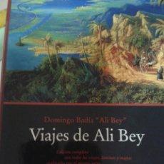 Libros de segunda mano: VIAJES DE ALI BEY. DOMINGO BADIA. Lote 104355835
