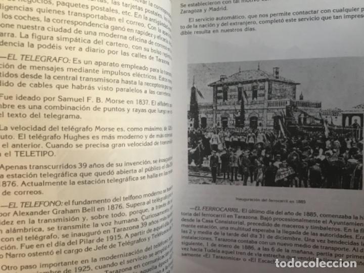 Libros de segunda mano: ANTIGUO LIBRO TARAZONA Y SU COMARCA MI TIERRA MIGUEL ÁNGEL SORIA GARCÍA - Foto 6 - 104558995