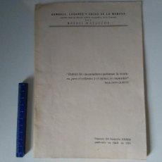 Libros de segunda mano: HOMBRES, LUGARES Y COSAS DE LA MANCHA - SEPARATA FASCÍCULO 33 (XXXIII) - RAFAEL MAZUECOS - 1971. Lote 105625551