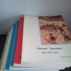 Libros de segunda mano: ¡AQUÍ ... ZARAGOZA! - JOSÉ BLASCO IJAZO - FACSIMIL 1988 -. Lote 105910295