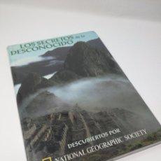 Libros de segunda mano: LOS SECRETOS DE LO DESCONOCIDO - NUEVO PRECINTADO - NATIONAL GEOGRAPHIC SOCIETY - RBA. Lote 105949143