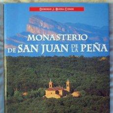 Libros de segunda mano: MONASTERIO DE SAN JUAN DE LA PEÑA - DOMINGO J. BUESA CONDE - ED. EVEREST 2007 - VER INDICE. Lote 106094375