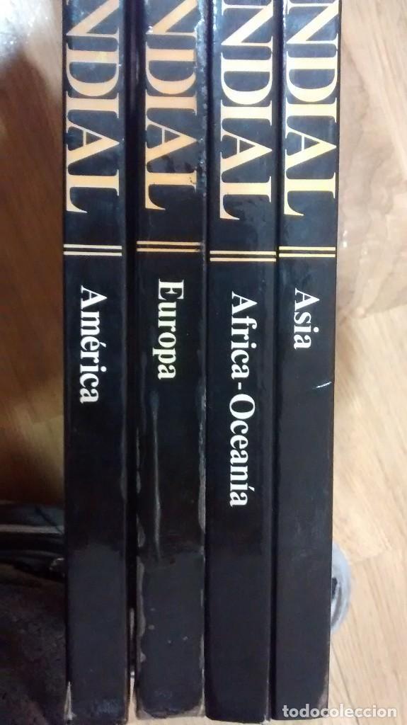 ATLAS MUNDIAL. 4 TOMOS (Libros de Segunda Mano - Geografía y Viajes)