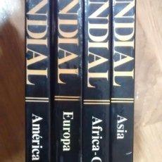 Libros de segunda mano - Atlas Mundial. 4 tomos - 106555655