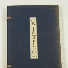Libros de segunda mano: WE JAPANESE, H.S.K. YAMAGUCHI, VOL.I, 389 ILUSTRACIONES, 1937, JAPAN. 15,8X22,5CM. Lote 106920099