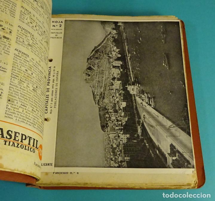 Libros de segunda mano: POBLACIONES DE ESPAÑA TOMO 1. PUBLICIDAD FARMACEÚTICA WASSERMANN. DE ABABUJ A GORDEJUELA. - Foto 2 - 107260971