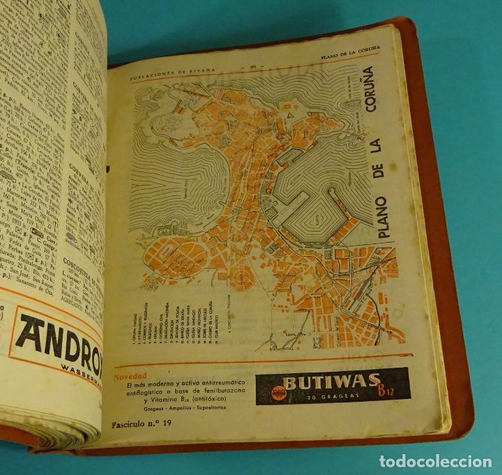 Libros de segunda mano: POBLACIONES DE ESPAÑA TOMO 1. PUBLICIDAD FARMACEÚTICA WASSERMANN. DE ABABUJ A GORDEJUELA. - Foto 4 - 107260971