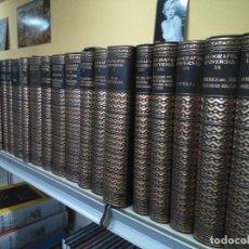 Libros de segunda mano: GEOGRAFIA UNIVERSAL -- P. VIDAL DE LA BLACHE Y L. GALLOIS -- 22 TOMOS -- MONTANER Y SIMON 1947 --. Lote 107574263