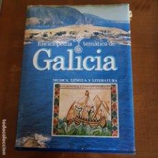 Libros de segunda mano: GALICIA -MUSICA LENGUA Y LITERATURA. Lote 107726839
