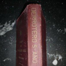 Livres d'occasion: RESERVADO ASTURIAS DERROTERO DE LA COSTA OCCIDENTAL DE AFRICA LORENZO MARTIN 1952 CADIZ. Lote 108279355