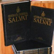 Libros de segunda mano: GEOGRAFÍA UNIVERSAL 17T POR LUCIANO BOSCHETTI Y ORIOL SOLER DE EDITORIAL SALVAT EN BARCELONA 2001. Lote 108753351