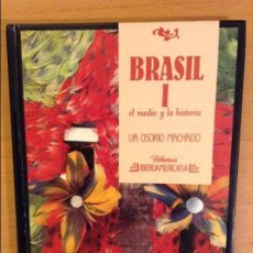 Libros de segunda mano: BRASIL I. EL MEDIO Y LA HISTORIA (LIA OSORIO MACHADO) ANAYA. Lote 109698459