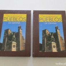 Libros de segunda mano: JOSÉ LUIS CEBRIÁN (DIR.). ENCICLOPEDIA DE LOS PUEBLOS DE ESPAÑA. DOS TOMOS. RMT85317. . Lote 109742107