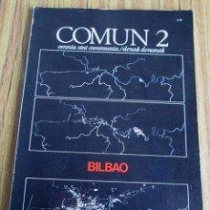 Libros de segunda mano: BILBAO ARTE, ARQUITECTURA, PENSAMIENTO, CIUDAD - COMUN 2. Lote 110001687