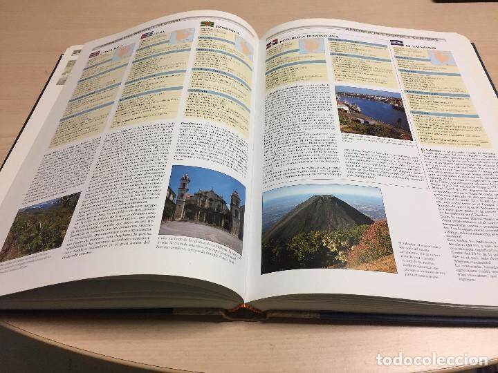Libros de segunda mano: Gran Atlas Universal y de España, 32x24 cms., edición de lujo, ed.Carroggio. Nuevo. - Foto 5 - 122440498
