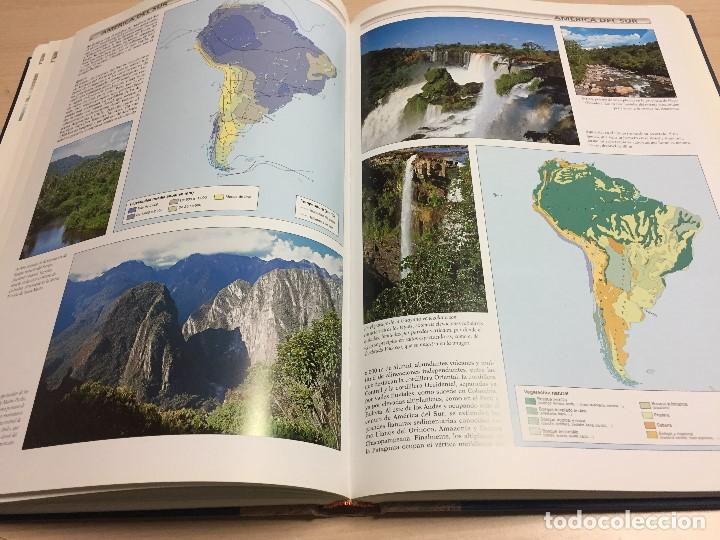 Libros de segunda mano: Gran Atlas Universal y de España, 32x24 cms., edición de lujo, ed.Carroggio. Nuevo. - Foto 2 - 122440498