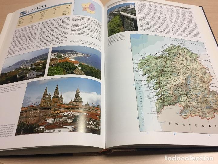 Libros de segunda mano: Gran Atlas Universal y de España, 32x24 cms., edición de lujo, ed.Carroggio. Nuevo. - Foto 3 - 122440498