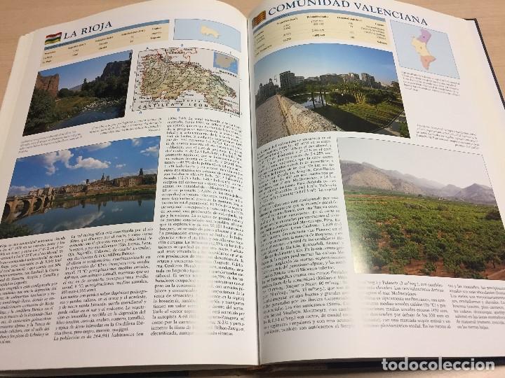 Libros de segunda mano: Gran Atlas Universal y de España, 32x24 cms., edición de lujo, ed.Carroggio. Nuevo. - Foto 4 - 122440498