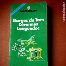 Livros em segunda mão: GORGES DU TARN CÉVENNES LANGUEDOC - MICHELIN 1993 - GUÍA DE TURISMO. Lote 110664571