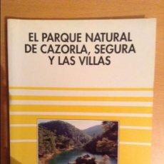 Libros de segunda mano: EL PARQUE NATURAL DE CAZORLA, SEGURA Y LAS VILLAS (SENDAI EDICIONES). Lote 110933291