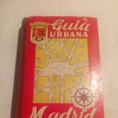 Libros de segunda mano: LIBRO GUÍA URBANA DE MADRID. EDITORIAL JOSE PAMIAS RUIZ, 1ª EDICIÓN 1.963.. Lote 110937323