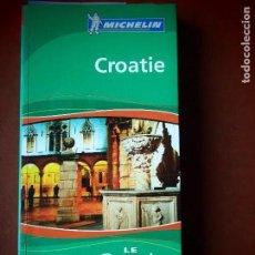 Livros em segunda mão: CROATIE LE GUIDE VERT. MICHELIN. CROACIA. Lote 111115203