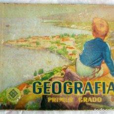 Libros de segunda mano: GEOGRAFIA PRIMER GRADO-- EDELVIVES AÑO 1961 EN MUY BUEN ESTADO. Lote 111904475