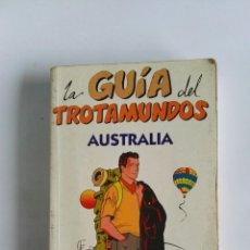 Libros de segunda mano: LA GUÍA DEL TROTAMUNDOS AUSTRALIA EDICIONES GAESA 1995. Lote 112437115