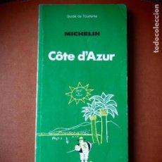 Livros em segunda mão: CÔTE D'AZUR MICHELIN GUIDE DE TOURISME COSTA AZUL. Lote 112616095