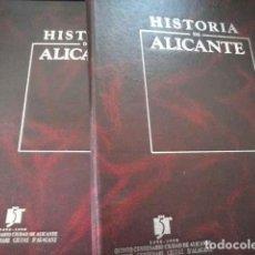 Libros de segunda mano: HISTORIA DE ALICANTE - QUINTO CENTENARIO. Lote 112935399